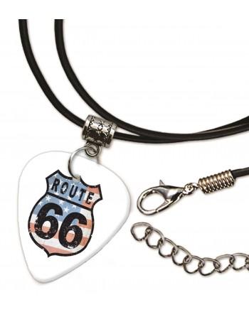 Route 66 ketting met plectrum