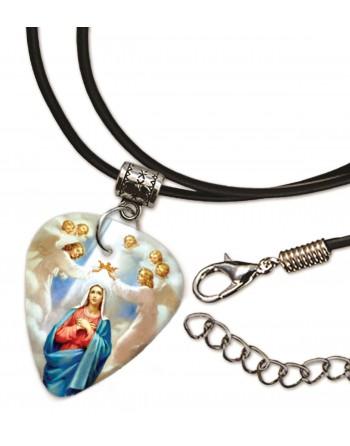 Maagd Maria ketting met plectrum