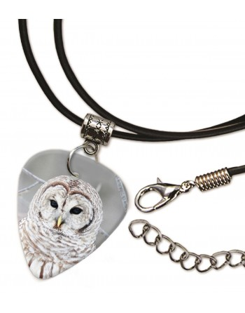 White Owl necklace with...