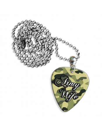 Army Wife ketting met plectrum