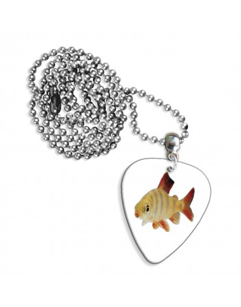Goldfish necklace with...
