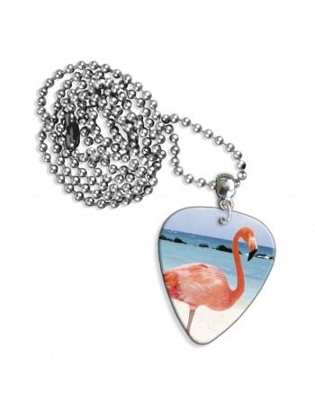 Flamingo ketting met plectrum