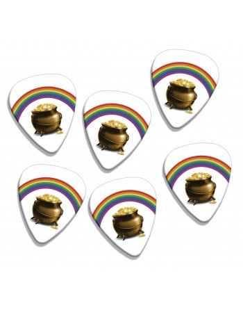 Plectrums with the image of...