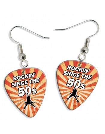 Rocking Since the 50's plectrum oorbellen