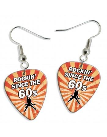 Rocking Since the 60's plectrum oorbellen
