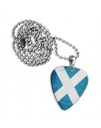 Schotse St. Andrews vlag ketting met plectrum