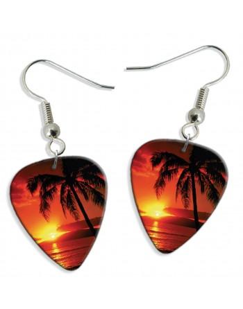 Sunset tropical ocean...