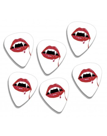 Guitar picks with the image...