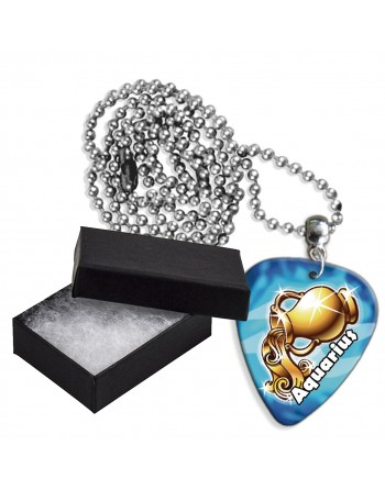 Waterman sterrenbeeld aluminium plectrum ketting