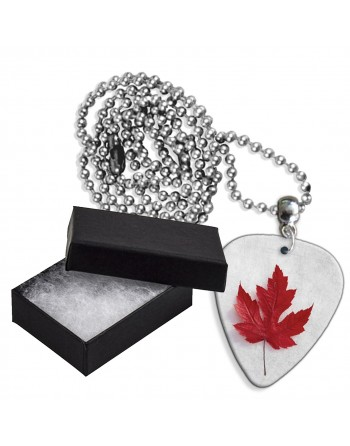 Maple leaf aluminum pick chain