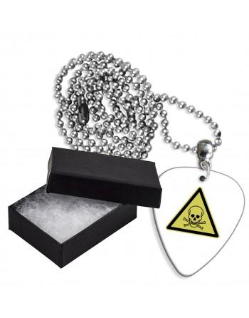 Poison sign aluminum guitar...