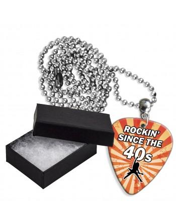 Rocking Since the 40's aluminium plectrum ketting