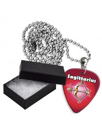 Boogschutter sterrenbeeld aluminium plectrum ketting