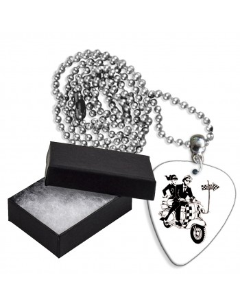 Ska scooter aluminium plectrum ketting