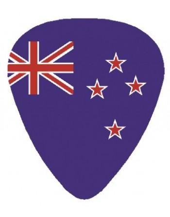 Plectrum met de afbeelding van Australische vlag