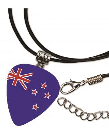 Plectrum ketting met de afbeelding van de Australische vlag