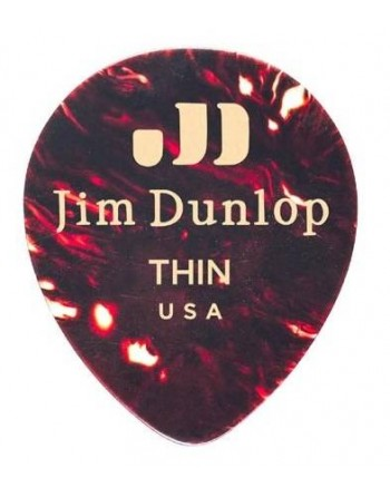 Dunlop tear drop plectrum thin
