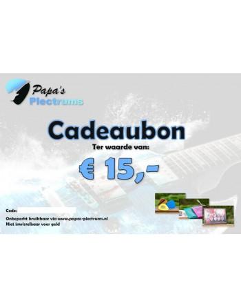Cadeaubon €15,00