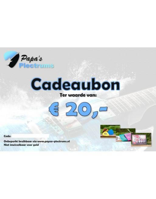 Cadeaubon €20,00