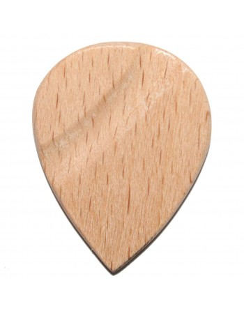 Wit beuken houten Jazz plectrum