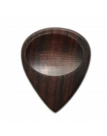 Indiase Palissander houten plectrum