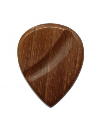 Teak houten plectrum