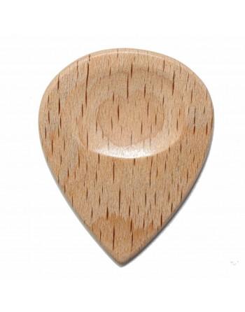 Gestoomd beuken houten Jazz plectrum