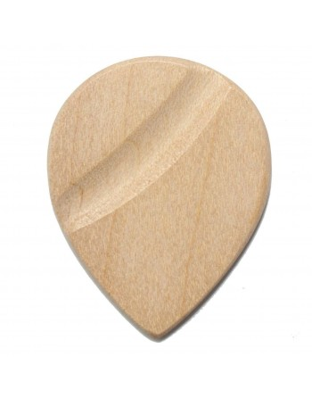 Amerikaanse esdoorn houten Jazz plectrum