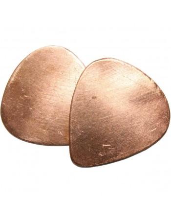 Copper plectrum handmade