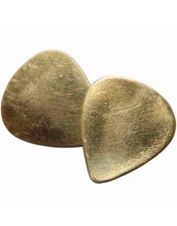 Bronze Plektrum handgefertigt