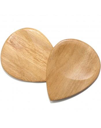 Haldina wooden plectrum