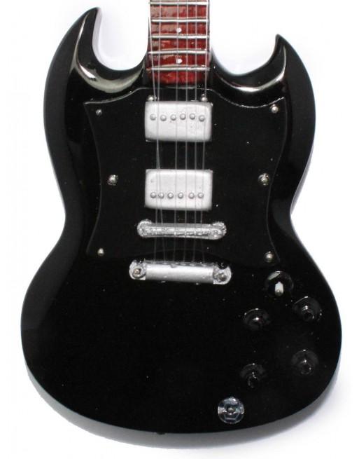 Angus Young AC/DC miniatuur gitaar
