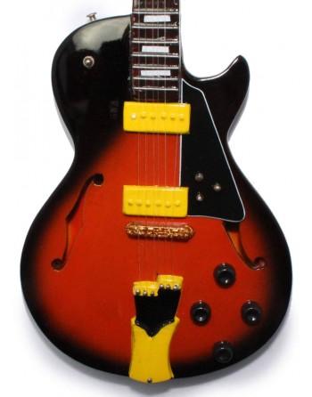 George Benson miniatuur gitaar