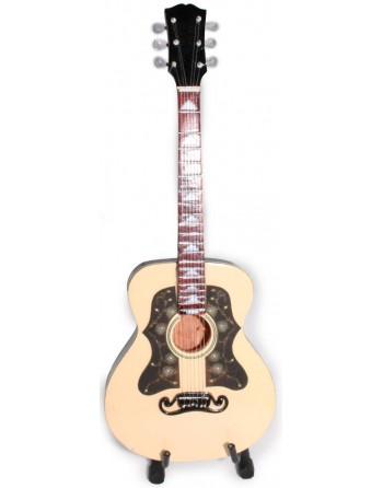 Ronnie Wood The Rolling Stones miniatuur gitaar