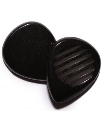 Chuncky plectrum 5.00 mm pitch black