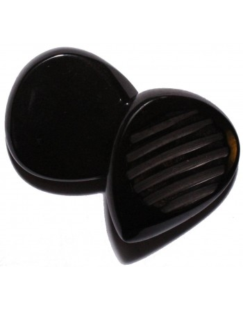 Chuncky plectrum 7.00 mm pitch black