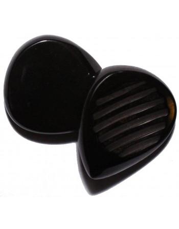 Chuncky plectrum 7.00 mm pitch black