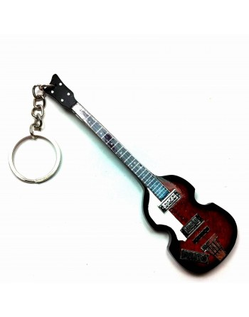 Paul McCartney The Beatles miniatuur basgitaar sleutelhanger