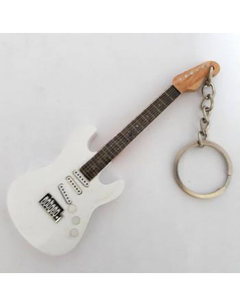 Jimi Hendrix miniatuur gitaar sleutelhanger