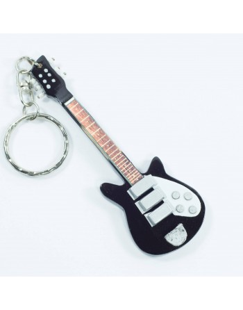 John Lennon The Beatles miniatuur gitaar sleutelhanger