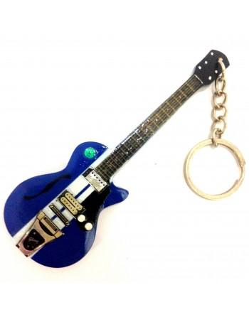 Eddie Vedder Pearl Jam miniatuur gitaar sleutelhanger