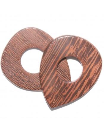 Wenge wooden plectrum