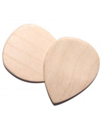 Esdoorn houten plectrum