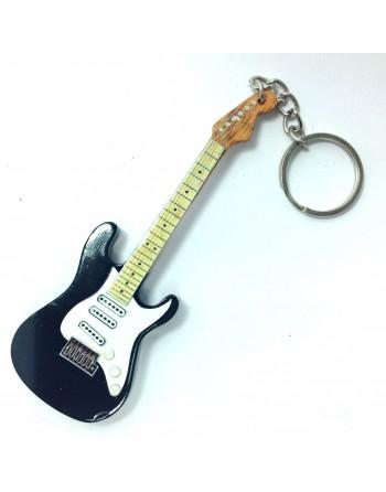 Eric Clapton miniatuur gitaar sleutelhanger
