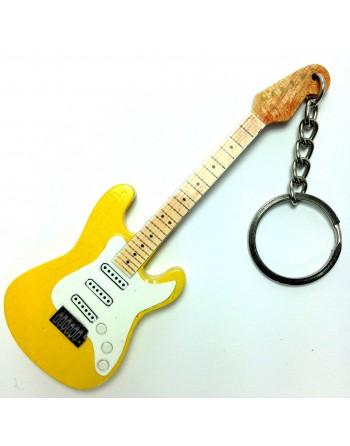 Yngwie Malmsteen miniatuur gitaar sleutelhanger