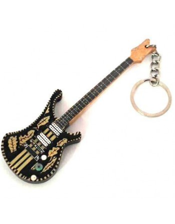 Lemmy Motörhead miniatuur basgitaar sleutelhanger