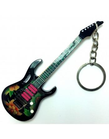 Steve Vai miniatuur gitaar sleutelhanger