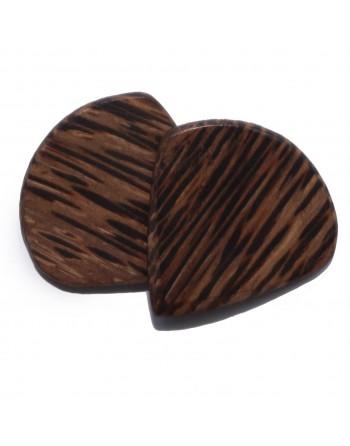 Wenge wooden Jazz III pick