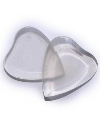 Handgemaakte acryl hartvormige plectrum