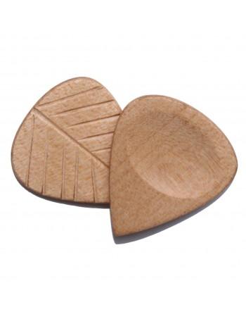 Esdoorn grip serie houten plectrum